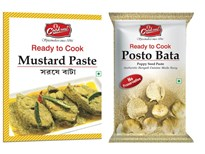 COOKME SPICES COMBO 6 MUSTARD PASTE  pack of 5 POST0 BATA PASTE pack of 2